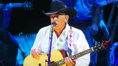 """George Strait Sings Mournful Song, """"Baby Blue""""   Country Music Videos"""