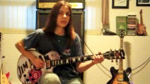 14-Year-Old Boy Crafts Own Backing Tracks For Insane Cover