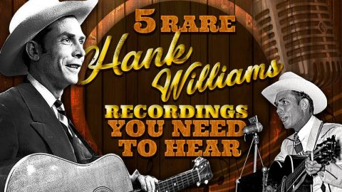 5 Rare Hank Williams Recordings You Need To Hear | Country Music Videos