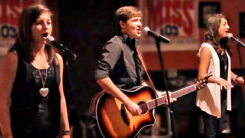 Young Siblings Honor The Eagles With Bone-Chilling 'Seven Bridges Road' Performance | Country Music Videos
