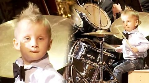 3-Year-Old Drumming Prodigy Steals The Show With Jaw-Dropping Performance! (VIDEO) | Country Music Videos