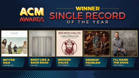 2018 ACM Award 'Single Record Of The Year' Winner Announced | Country Music Videos