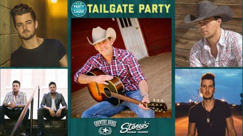 Party With Your Favorite Country Stars At The ACM's Massive Vegas Tailgate | Country Music Videos