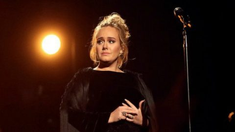 Adele Botches Live Grammy Performance, Stops The Show | Country Music Videos