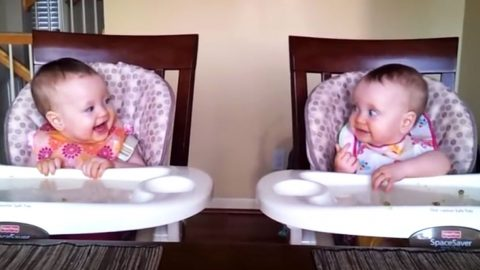 Adorable Twins Dance To Dad's Guitar (Then and Now) | Country Music Videos