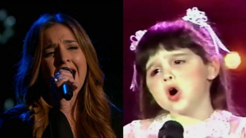 'The Voice' Front-Runner Performs On Star Search At Age 5 | Country Music Videos