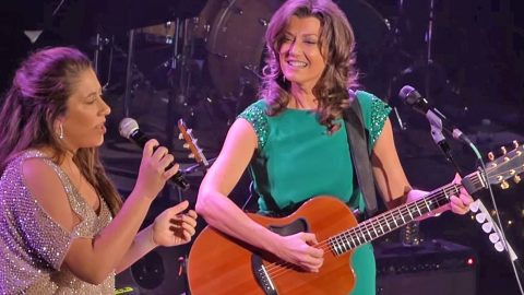 All In The Family: The Best Of Vince Gill & Amy Grant Singing With Daughter, Corrina   Country Music Videos
