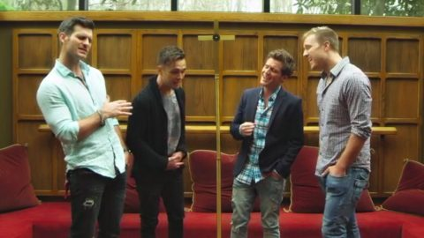 Four Guys Mash-Up Classic Hymns And The Result Is Magical [WATCH] | Country Music Videos