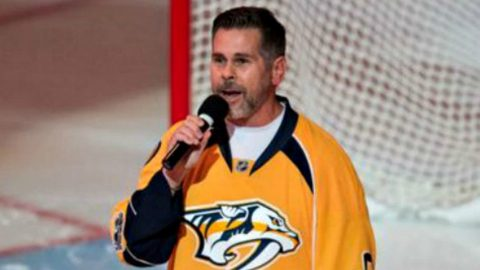 NHL Anthem Singer No Longer Wants To Be Associated With The Nashville Predators   Country Music Videos