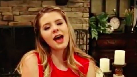 14-Year-Old Brings Amazing Vocals To Judds Classic 'Mama He's Crazy' | Country Music Videos