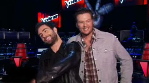 Adam Levine & Blake Shelton Find Humor On 'The Voice' – Access Hollywood (VIDEO) | Country Music Videos