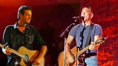 Blake Shelton Gets Shown Up At His Own Concert!   Country Music Videos