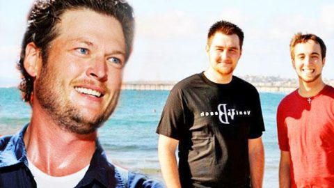 """Michael Henry and Justin Robinett Cover Blake Shelton's """"God Gave Me You"""" (WATCH)   Country Music Videos"""