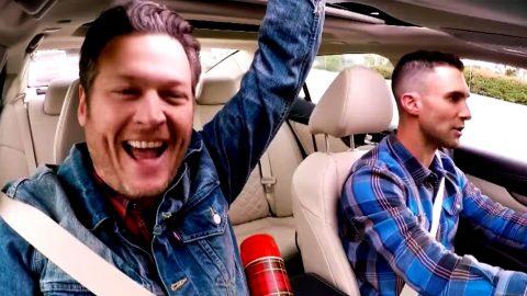 Blake Shelton's 'Carpool Karaoke' Has Surprising Twist | Country Music Videos