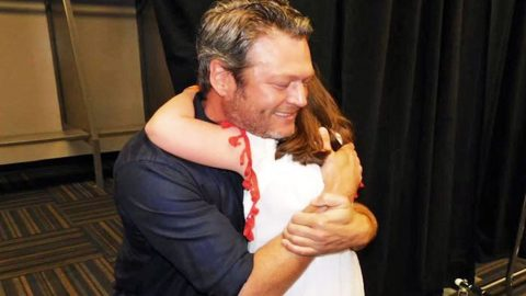 Blake Shelton Brings Special Child To Tears In Heartwarming Moment | Country Music Videos