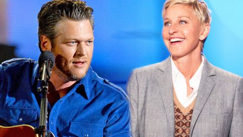 Blake Shelton's Hilarious 'Heads Up!' Fail on The Ellen Show | Country Music Videos