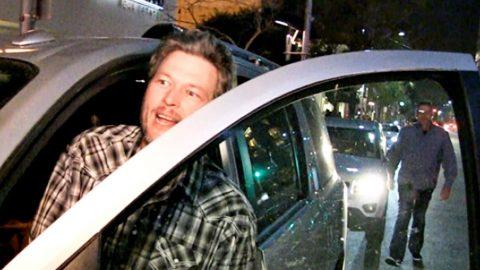 Blake Shelton Flips Off NASCAR Driver | Country Music Videos
