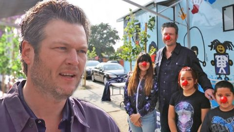 Blake Shelton Gets Silly For A Serious And Important Cause (WATCH)   Country Music Videos