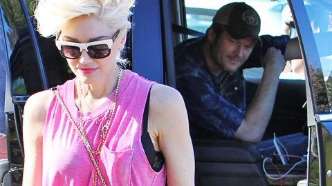 Gwen Stefani Reveals Truth Behind 'Super Embarrassing Moment' With Blake Shelton | Country Music Videos