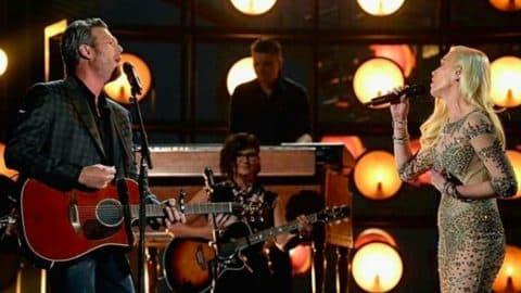 Blake Shelton & Gwen Stefani Take Steamy Duet To Billboard Music Awards   Country Music Videos