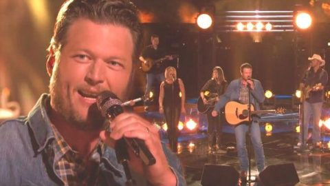 Blake Shelton – Boys 'Round Here (The Voice Live) (VIDEO) | Country Music Videos