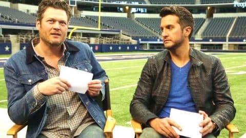 Blake Shelton & Luke Bryan Play 'Would You Rather?' (WATCH) | Country Music Videos