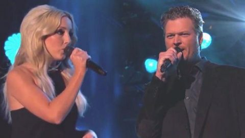 Blake Shelton and Ashley Monroe – Lonely Tonight (Jimmy Kimmel Live) (VIDEO) | Country Music Videos
