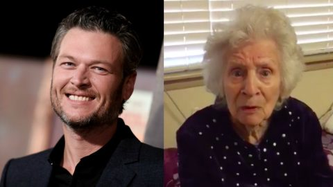 Blake Shelton Posts Adorable Response To 89-Year Old Fan's Invite To Visit | Country Music Videos