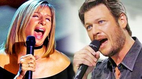 Blake Shelton & Barbra Streisand – I'd Want It To Be With You (WATCH) | Country Music Videos
