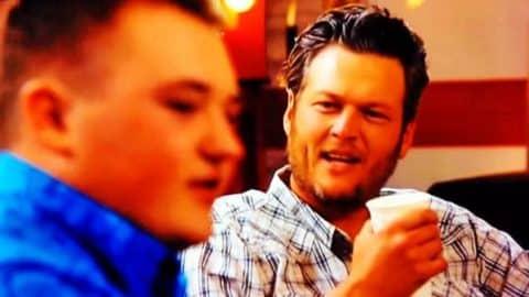 Blake Shelton and Jake Worthington – The Voice (Hilarious) | Country Music Videos