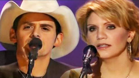 Brad Paisley & Alison Krauss Bring Opry To Tears With Chilling 'Whiskey Lullaby'   Country Music Videos