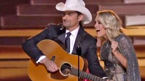Brad & Carrie Poke Fun At Politics And Peyton Manning During Hilarious CMA Opener | Country Music Videos