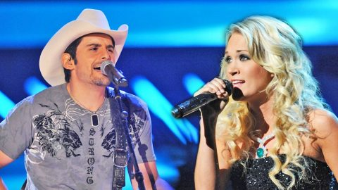 When Brad Paisley Took The Stage, Fans Were Not Expecting Carrie Underwood! (AMAZING!) | Country Music Videos