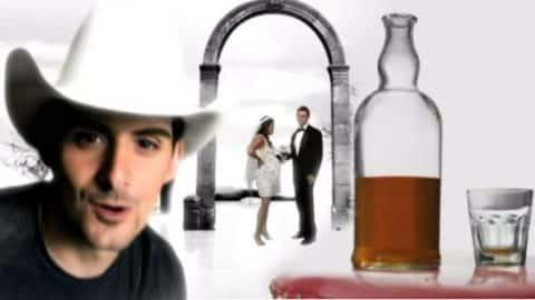 Brad Paisley – Alcohol   Country Music Videos