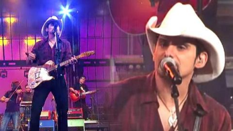 Brad Paisley – Catch All The Fish (Live on Letterman) | Country Music Videos