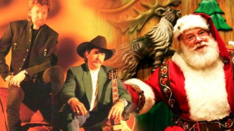 Brooks & Dunn – Who Says There Ain't No Santa   Country Music Videos