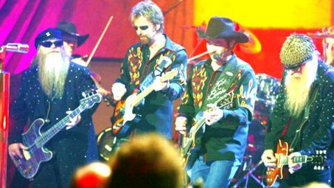 Brooks and Dunn with ZZ Top – Rough Boy | Country Music Videos