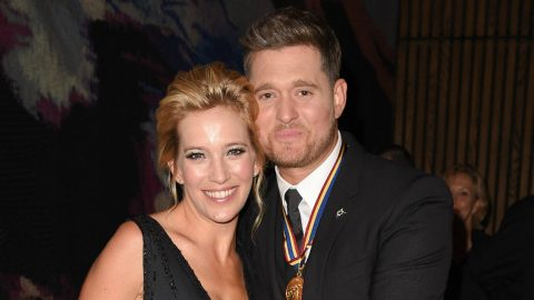 Michael Buble's Wife Shares Sweet Photo Of Son Amid Cancer Recovery | Country Music Videos
