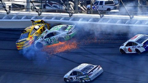 Driver 'Sick & Tired' Of Racing After Talladega Slaughtered His Car | Country Music Videos