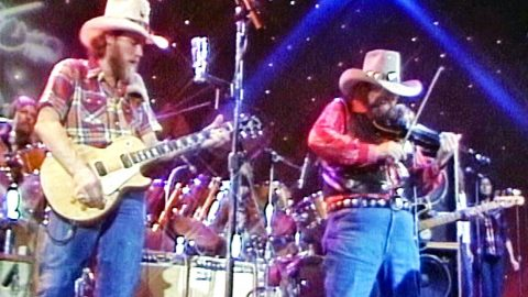 FLASHBACK: Charlie Daniels Performs 'Devil Went Down To Georgia' For The First Time   Country Music Videos