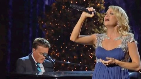 Carrie Underwood Takes Us To Church With Mind-Blowing Performance Of 'All Is Well' | Country Music Videos