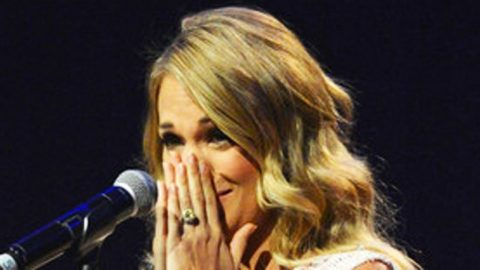 New Song Brings Carrie Underwood To Tears | Country Music Videos