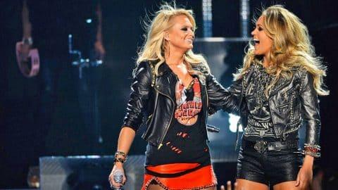 Carrie Underwood Miranda Lambert And Blake Shelton Will Always Be