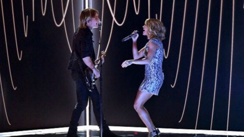 Keith Urban & Carrie Underwood Rock 'The Fighter' Performance At Grammy Awards | Country Music Videos