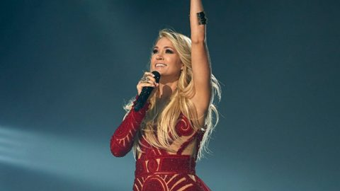 Carrie Underwood Sends Fans Into Frenzy With Preview Of New Super Bowl Anthem | Country Music Videos