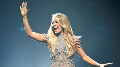 Carrie Underwood Kicks Off Super Bowl With Long Awaited 'The Champion' Music Video Debut | Country Music Videos