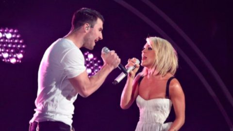 Carrie Underwood And Sam Hunt Deliver Sultry Mash-Up Of Hits   Country Music Videos