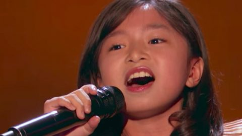 9-Year Old Dominates 'America's Got Talent' With 'How Am I Supposed To Live Without You' Cover | Country Music Videos
