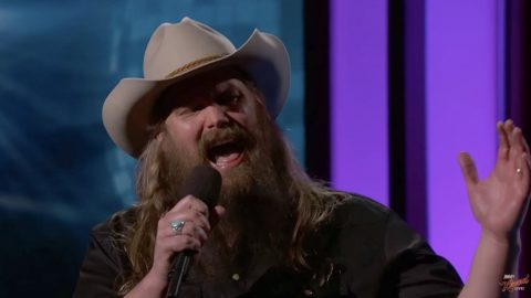 Chris Stapleton Has Time Of His Life Performing Iconic 'Dirty Dancing' Tune | Country Music Videos