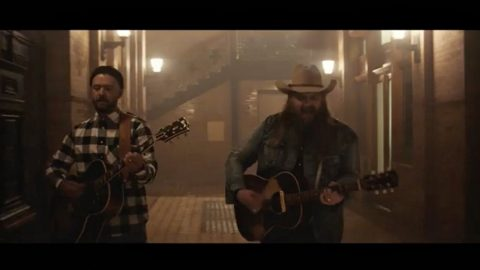 Chris Stapleton Shares First Glimpse Of Video For Long-Awaited Duet With Justin Timberlake | Country Music Videos